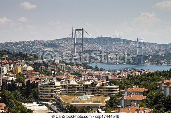 Bosphorus bridge - csp17444548