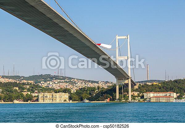 Bosporus bridge in Istanbul - csp50182526