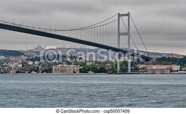 Bosporus Bridge, istanbul Turkey - csp50007409