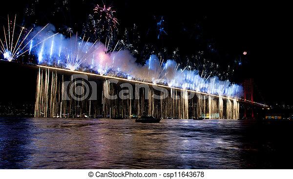 Bosporus Bridge - csp11643678