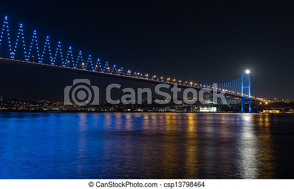 Bosporus Bridge - csp13798464