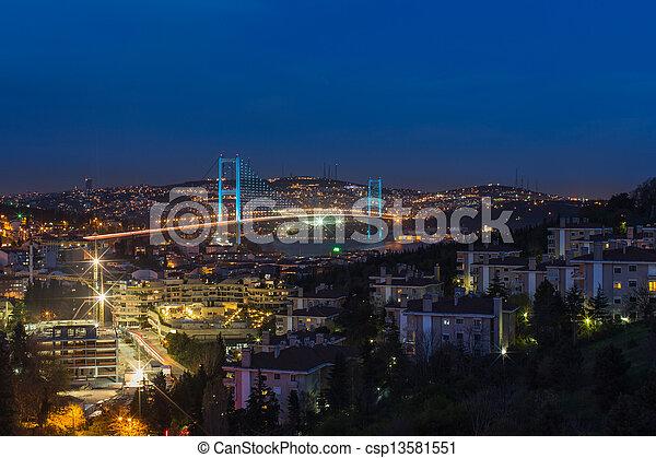 Bosporus Bridge - csp13581551