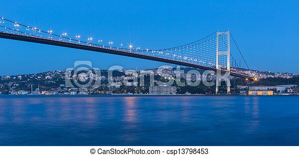 Bosporus Bridge - csp13798453