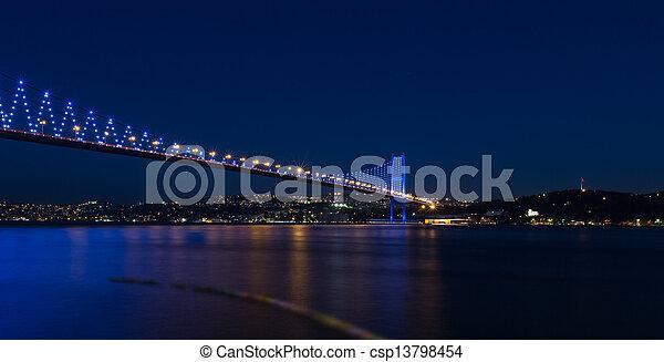 Bosporus Bridge - csp13798454