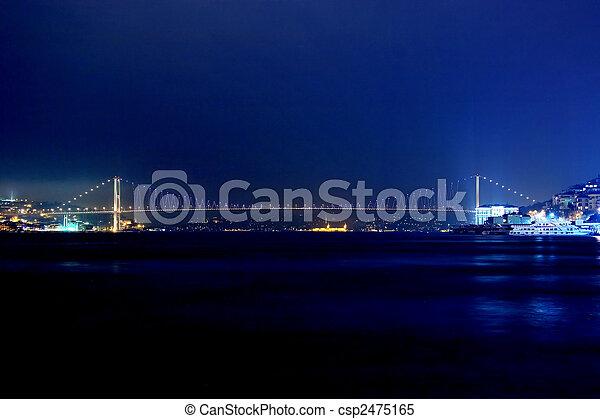 Bosporus Bridge - csp2475165