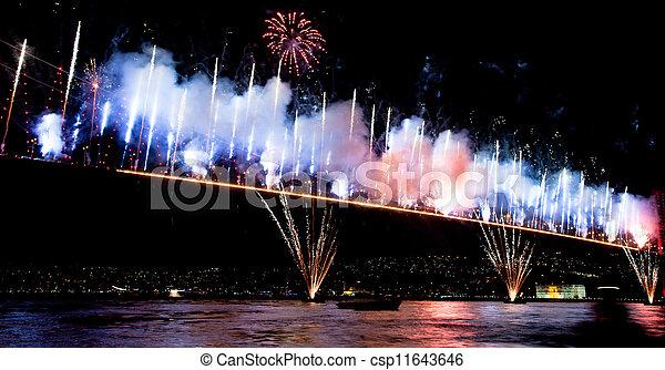 Bosporus Bridge - csp11643646