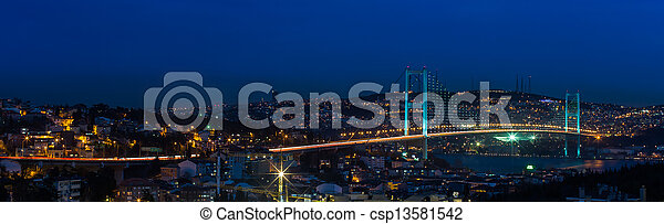 Bosporus Bridge - csp13581542