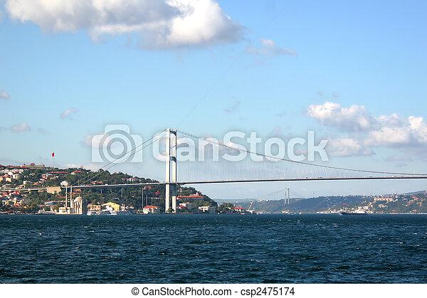 Bosporus Bridge - csp2475174