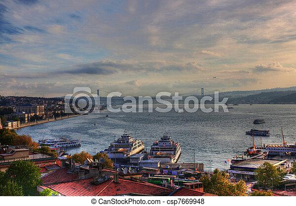 Bosporus Istanbul - csp7669948