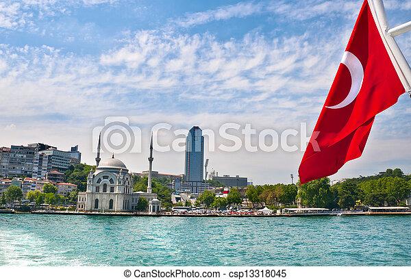 Bosporus, Istanbul, Turkey - csp13318045