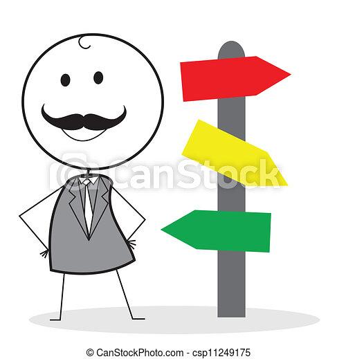 boss directions - csp11249175