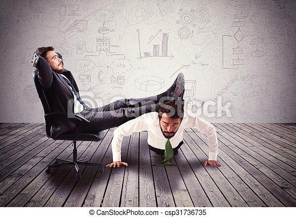 Boss mobbing - csp31736735
