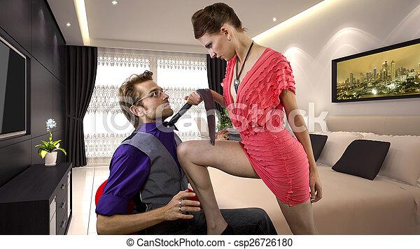seduced by a man