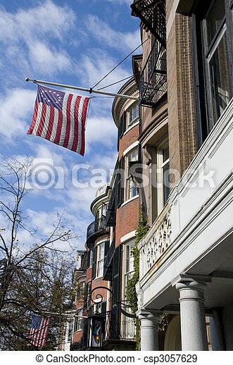 Boston Architecture - csp3057629