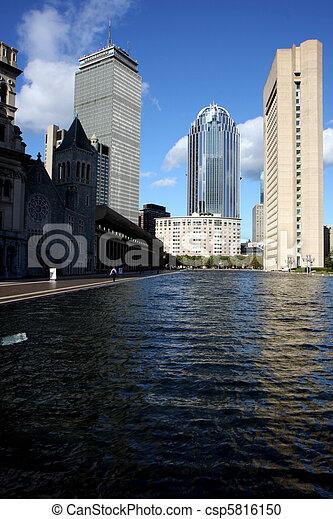 Boston center architecture - csp5816150