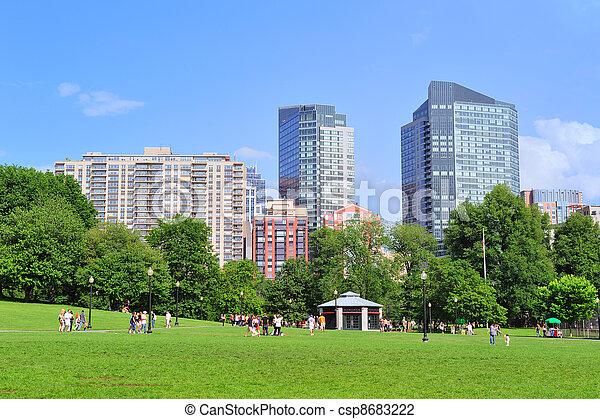 Boston Common public garden - csp8683222