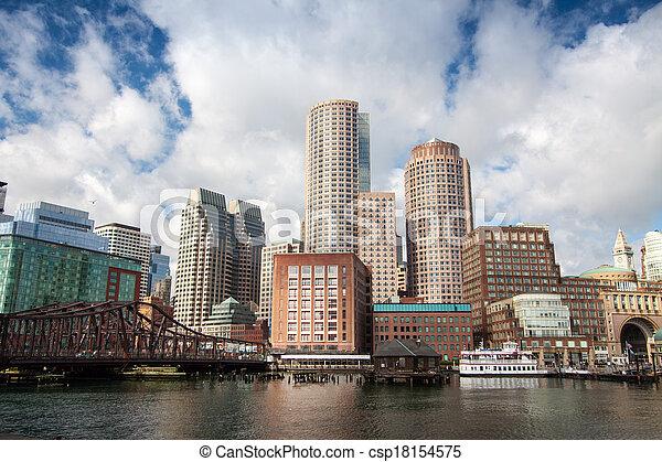 Boston, Massachusetts - csp18154575