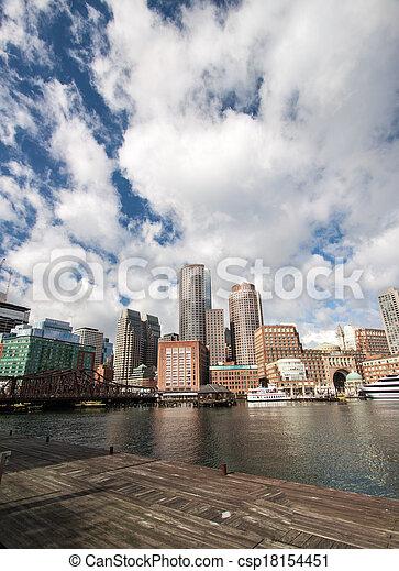 Boston, Massachusetts - csp18154451