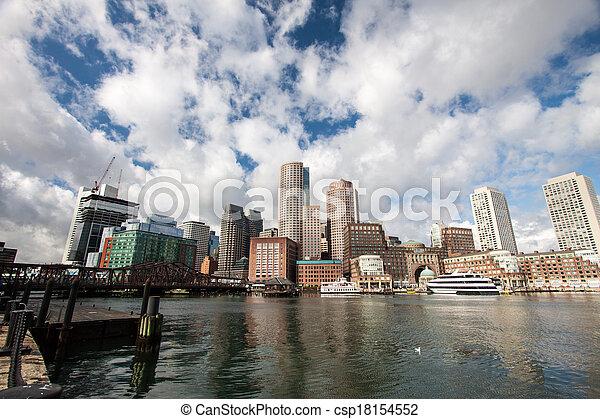 Boston, Massachusetts - csp18154552