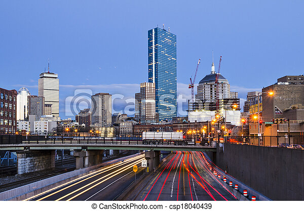 Boston, Massachusetts - csp18040439