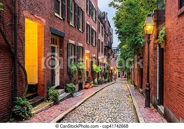 Boston, Massachusetts, USA - csp41742668