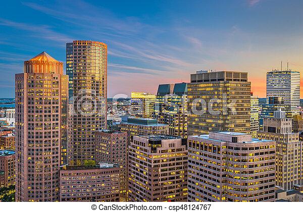 Boston, Massachusetts, USA - csp48124767
