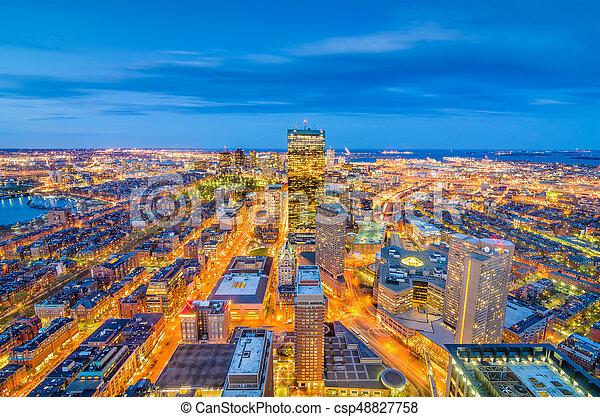 Boston, Massachusetts, USA - csp48827758