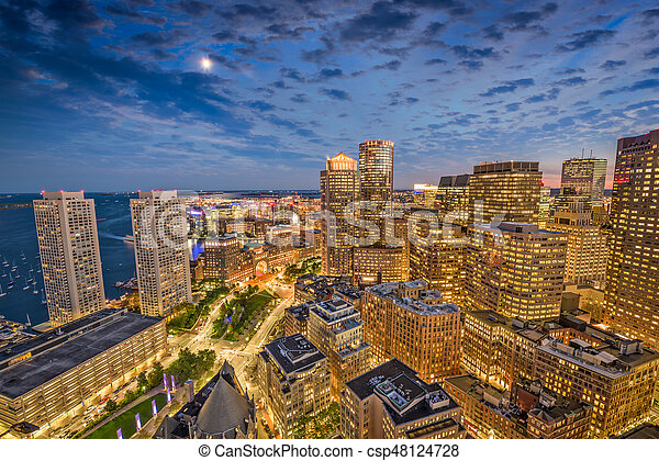 Boston, Massachusetts, USA - csp48124728