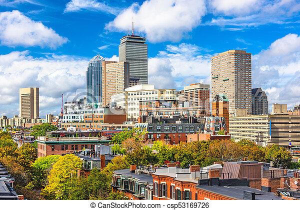Boston, Massachusetts, USA - csp53169726
