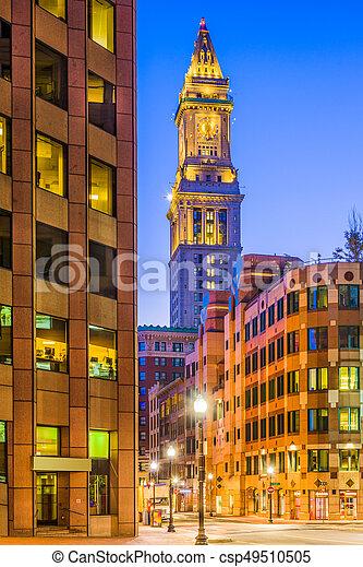 Boston, Massachusetts, USA - csp49510505