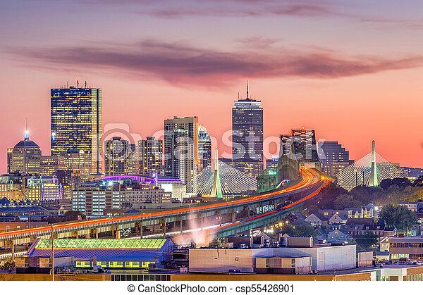 Boston, Massachusetts, USA - csp55426901