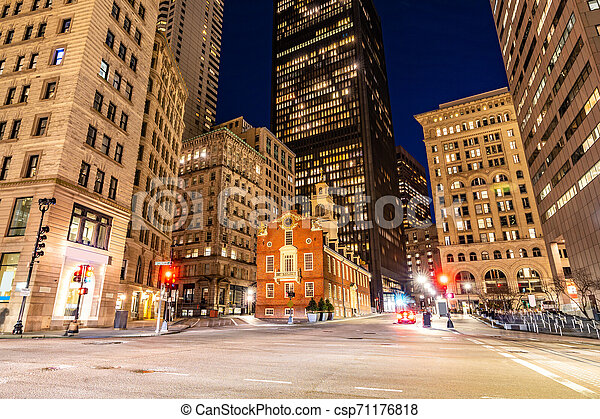 Boston Old State House - csp71176818