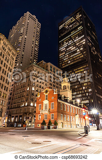Boston Old State House - csp68693242