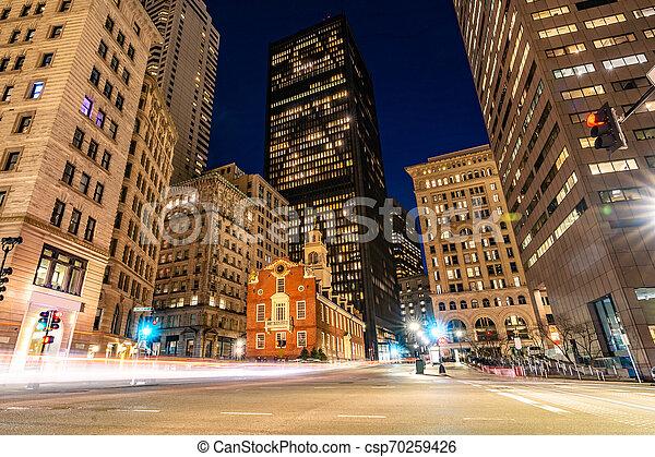 Boston Old State House - csp70259426