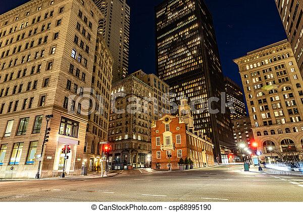Boston Old State House - csp68995190