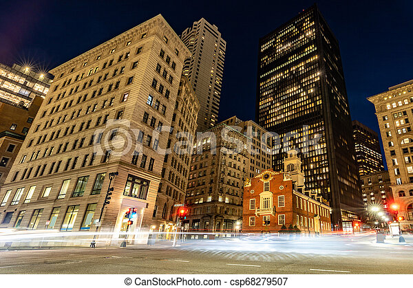 Boston Old State House - csp68279507