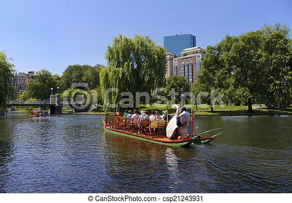 Boston, Parks - csp21243931