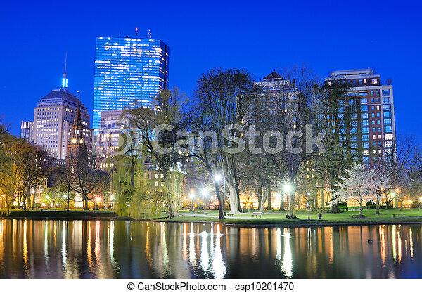 Boston Public Garden - csp10201470
