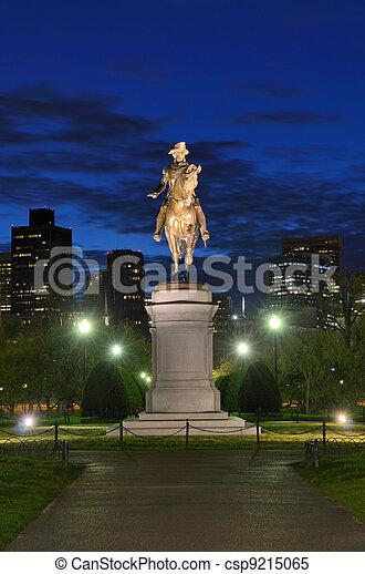 Boston Public Garden - csp9215065
