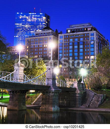 Boston Public Garden - csp10201425