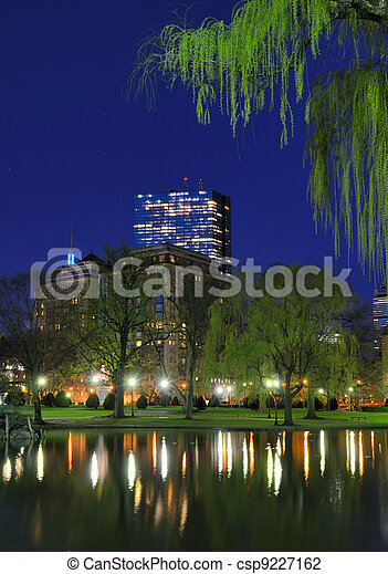 Boston Public Garden - csp9227162