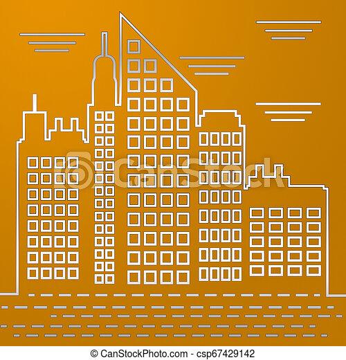 Boston Real Estate City Represents Property In Massachusetts 3d Illustration - csp67429142