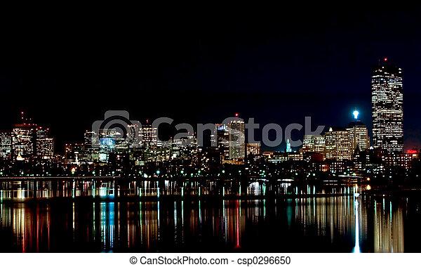 Boston Skyline 1 - csp0296650