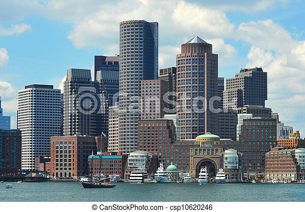 Boston Skyline - csp10620246