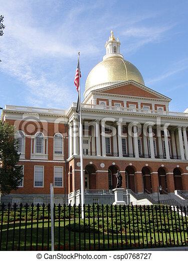 Boston State House - csp0768727