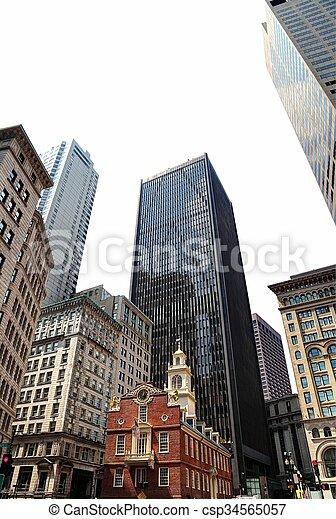 Boston - csp34565057