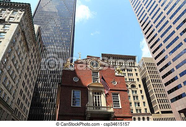 Boston - csp34615157