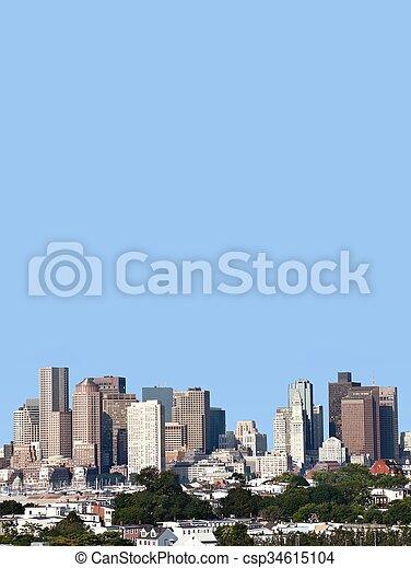 Boston - csp34615104