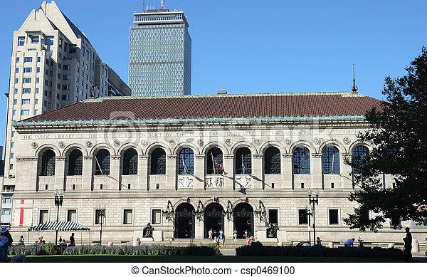 Boston streets 3 - csp0469100