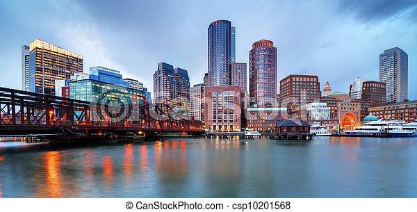 Boston waterfront - csp10201568